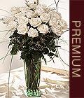 Ulus Ankara çiçek satışı  Beyaz güllerden vazo tanzim