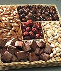 Ulus Ankara çiçek , çiçekçi , çiçekçilik Kuru yemis ve çikolata hediyesi