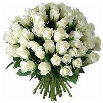 Ulus Ankara çiçek gönderme  33 adet beyaz gül buketi