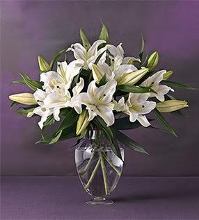 4 dal cazablanca vazo çiçeği