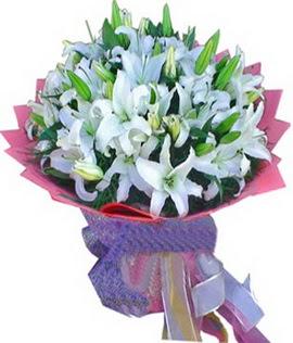 7 dal cazablanca görsel buketi  Ulus Ankara 14 şubat sevgililer günü çiçek
