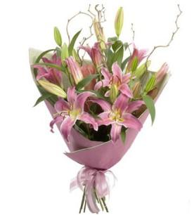 3 dal cazablanca buket çiçeği