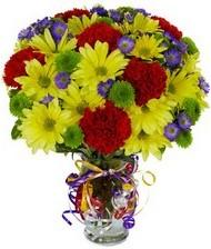 En güzel hediye karışık mevsim çiçeği