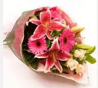 1 dal kazablanka ve mevsim çiçekleri  Ulus Ankara çiçek servisi , çiçekçi adresleri