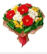 1 demet karışık buket  Ulus Ankara çiçek gönderme sitemiz güvenlidir