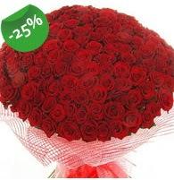 151 adet sevdiğime özel kırmızı gül buketi  Ulus Ankara anneler günü çiçek yolla