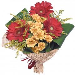 karışık mevsim buketi  Ulus Ankara 14 şubat sevgililer günü çiçek