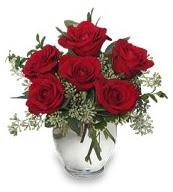 Vazo içerisinde 5 adet kırmızı gül  Ulus Ankara 14 şubat sevgililer günü çiçek