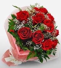 12 adet kırmızı güllerden kaliteli gül  Ulus Ankara çiçek mağazası , çiçekçi adresleri