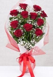 11 kırmızı gülden buket çiçeği  Ulus Ankara çiçek yolla , çiçek gönder , çiçekçi