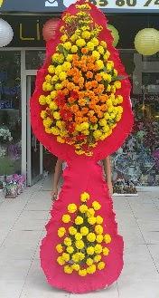 Çift katlı düğün nikah açılış çiçeği  Ulus Ankara çiçekçi telefonları