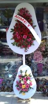 Çift katlı düğün nikah çiçeği  Ulus Ankara çiçekçi telefonları