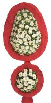 Çift katlı düğün açılış nikah çiçeği