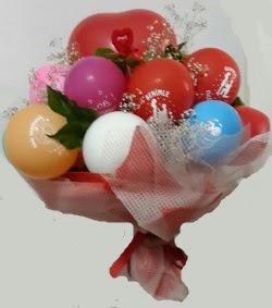Benimle Evlenirmisin balon buketi  Ulus Ankara online çiçekçi , çiçek siparişi