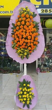 Ulus Ankara güvenli kaliteli hızlı çiçek  Çift katlı düğün nikah çiçeği