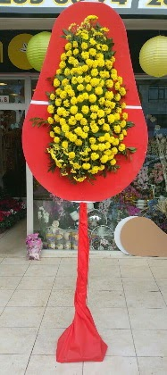 Ulus Ankara kaliteli taze ve ucuz çiçekler  Tek katlı düğün nikah çiçeği