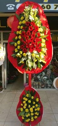 Çift katlı düğün açılış çiçek modeli  Ulus Ankara çiçek gönderme