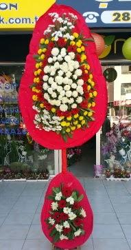 Ulus Ankara çiçek yolla , çiçek gönder , çiçekçi   Çift katlı düğün nikah çiçeği  Ulus Ankara online çiçekçi , çiçek siparişi