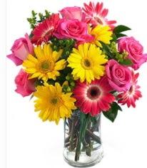 Vazoda Karışık mevsim çiçeği  Ulus Ankara 14 şubat sevgililer günü çiçek