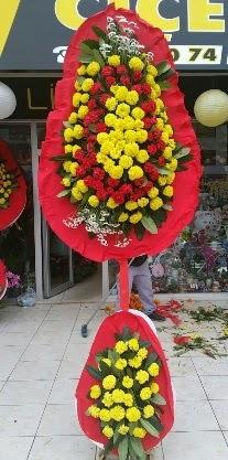 Çift katlı düğün nikah açılış çiçeği  Ulus Ankara İnternetten çiçek siparişi