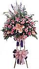 Ulus Ankara çiçek , çiçekçi , çiçekçilik   Ferforje Pembe kazablanka
