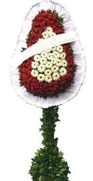 Çift katlı düğün nikah açılış çiçek modeli