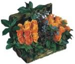 Ulus Ankara çiçek servisi , çiçekçi adresleri  Oranj kaliteli bir gül sandigi