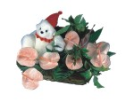Ulus Ankara kaliteli taze ve ucuz çiçekler  Sepette  oyuncakli antoryumlar