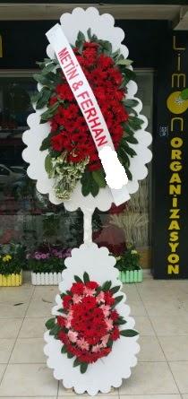 Çift katlı düğün nikah çiçeği modeli  Ulus Ankara anneler günü çiçek yolla