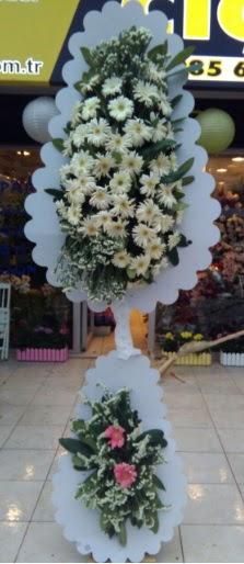 Çift katlı düğün nikah açılış çiçeği