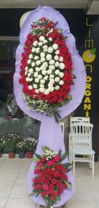 Çift katlı işyeri açılış çiçek modeli