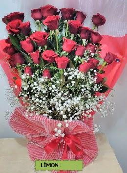 Kız isteme buket çiçeği 33 kırmızı gül