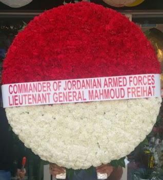 Anıtkabir mozele çiçeği 450 karanfilli