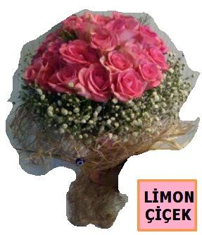 Pembe gül kız isteme söz nişan çiçeği