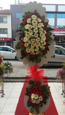 Çift katlı düğün açılış çiçeği