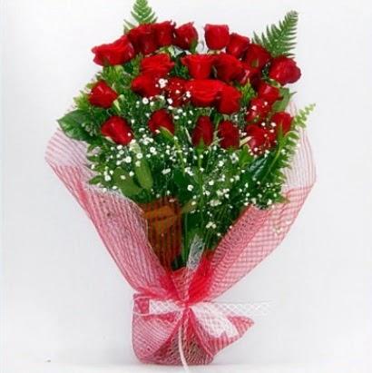 Kız isteme buketi çiçeği sade 29 adet gül
