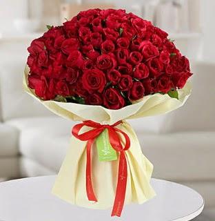 101 adet kırmızı gül buketi koca demet  Ulus Ankara çiçek servisi , çiçekçi adresleri