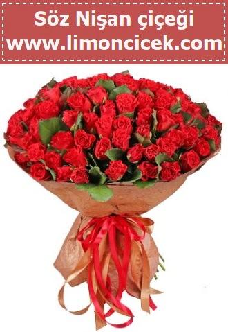 Kız isteme söz nişan çiçeği 101 gül