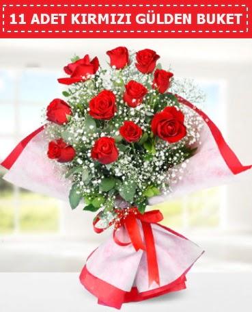 11 Adet Kırmızı Gül Buketi  Ulus Ankara çiçek servisi , çiçekçi adresleri