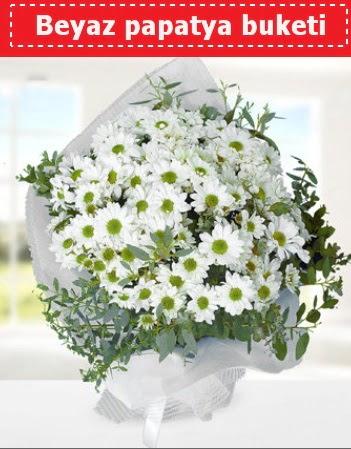 Beyaz Papatya Buketi  Ulus Ankara çiçek yolla , çiçek gönder , çiçekçi