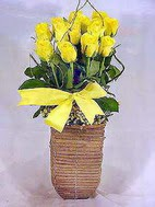 Ulus Ankara ucuz çiçek gönder  sicak ates çiçek sepet modeli